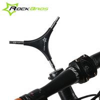 Локк братья велосипед служба инструмент горный велосипед ремонт три головки гаечный ключ многофункциональный шестиугольник Y тип инструмент