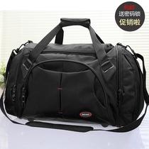 新款旅行包男行李包大容量旅行袋旅游包健身包单肩手提包包邮