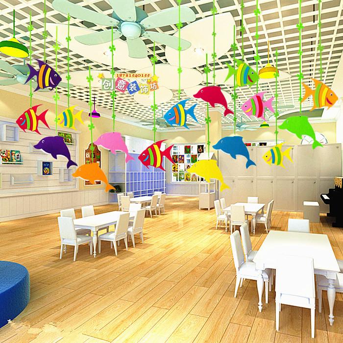 Детский сад учить комната идти галерея воздуха очарование торговый центр мать младенец плавать дом декоративный статья творческий океан ветер дельфин брелок