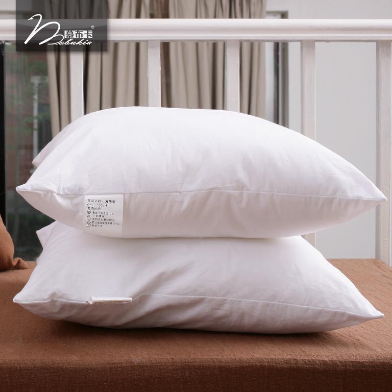 Mobukia 慕布卡羽絨棉抱枕芯靠墊芯沙發床頭多規格 白色柔軟 定製