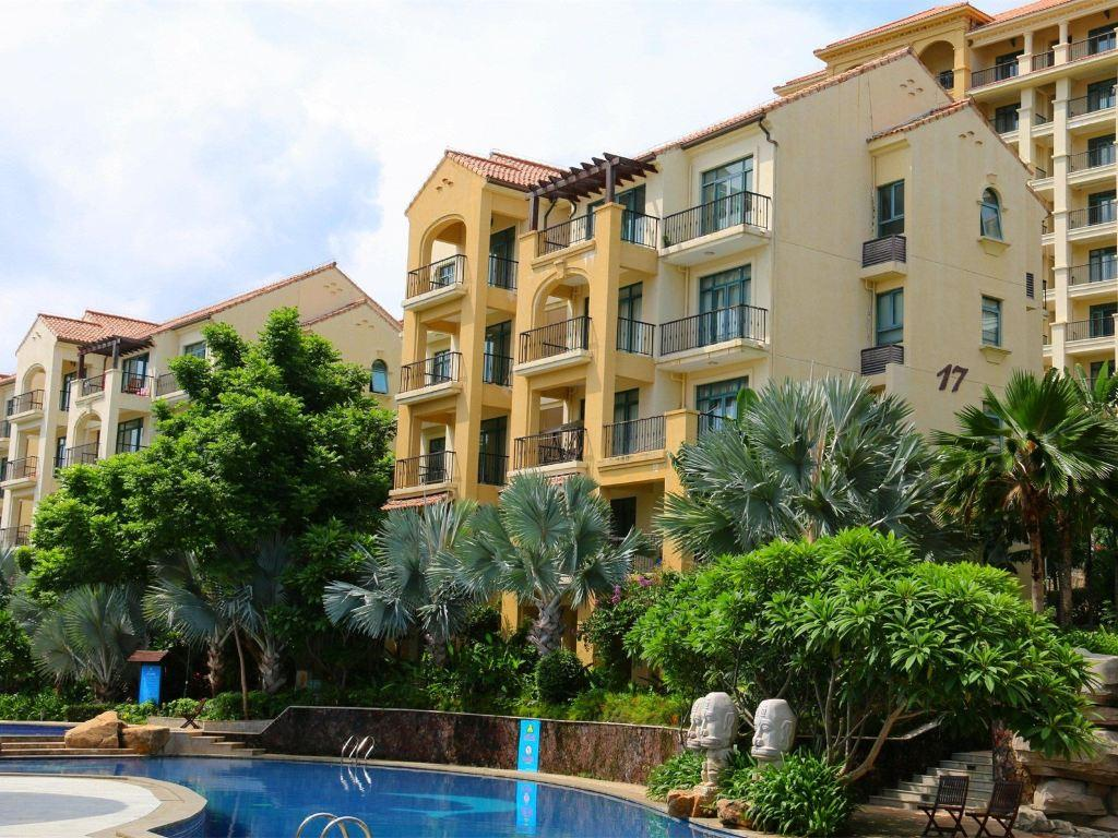 Sanya Zilong garden foreign house holiday apartment special two bedroom room
