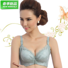 16748ac1fb The new spring and summer deep V sexy underwear gather vice milk bra lady  come breast