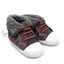 Autumn and winter of preppy wind baby toddler infant child non-slip bottom leisure sports men and women B903 soft bottom shoes