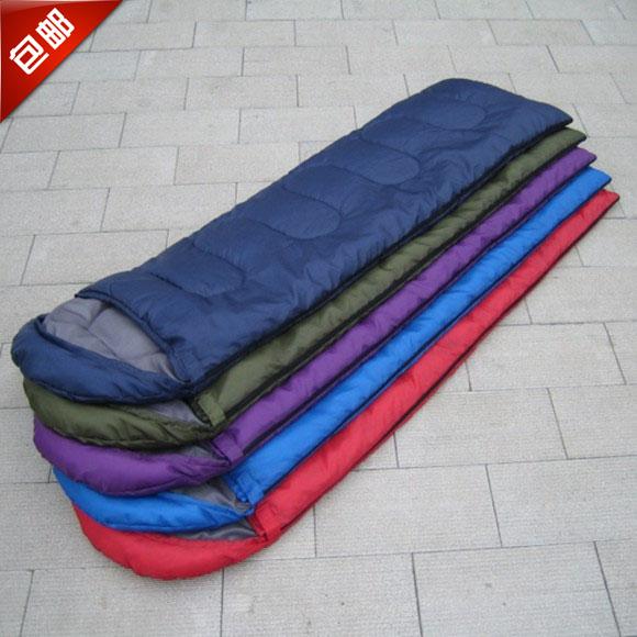 包邮 户外旅游棉睡袋 信封式睡袋 夏季露营睡袋 超轻超薄午休睡袋