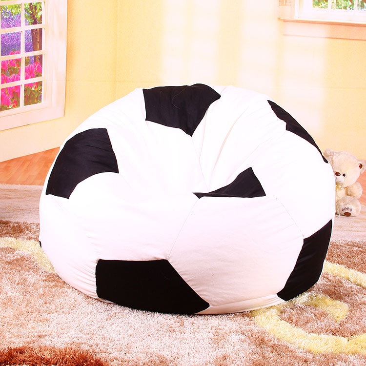 Levmoon single lazy sofa creative football bean bag lazy bag leisure particle sofa Beanbag