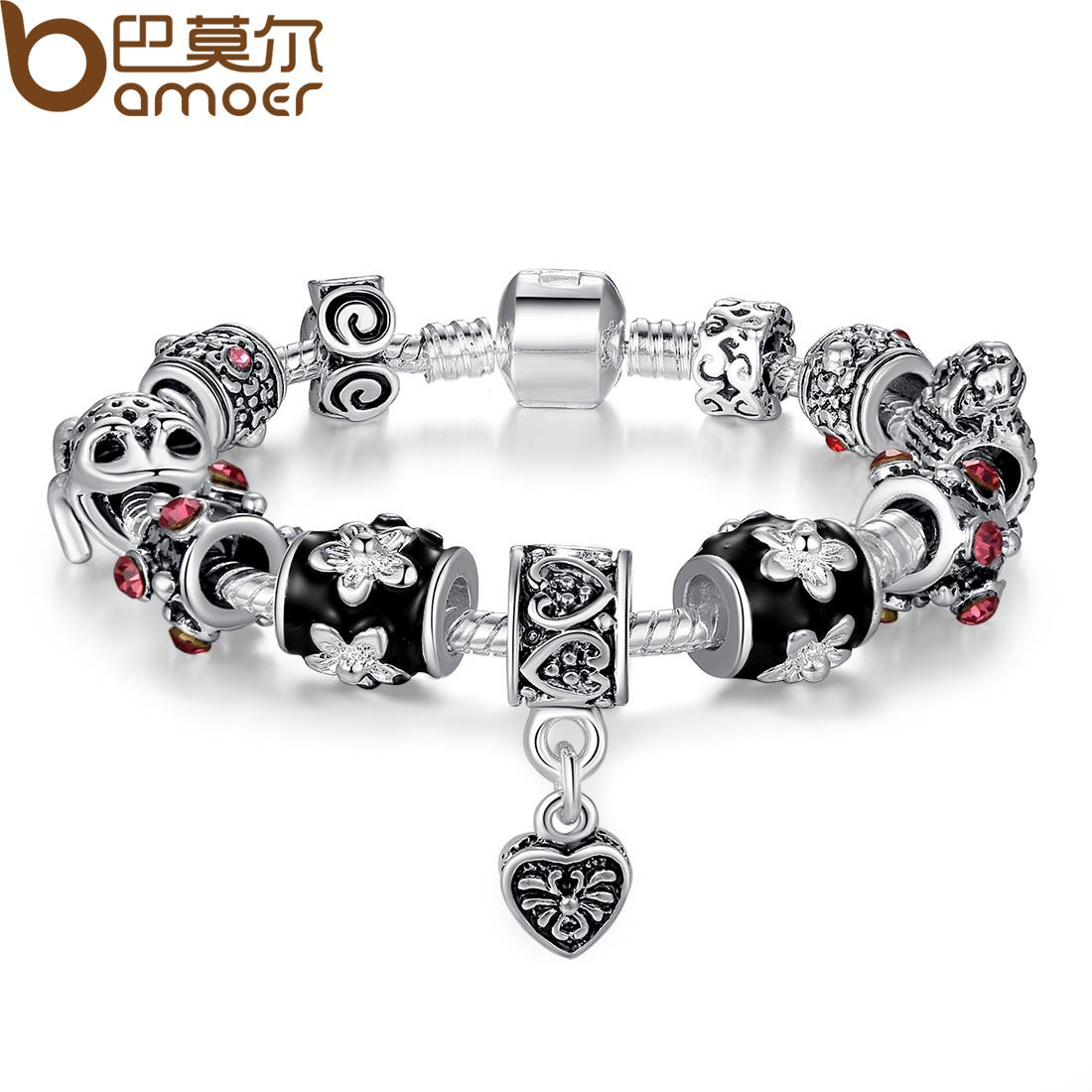 Новый Корейский моды ювелирные изделия мода ювелирные изделия новые стекла бисерные браслеты женщин милой принцессы мешок почта