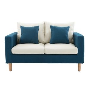 布艺客厅小户型北欧沙发双/三人组合咖啡厅卧室休闲椅拆洗沙发