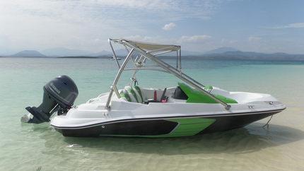 双层豪华快艇 游艇 高速艇 运动艇 钓鱼船 可配船外机的游乐船