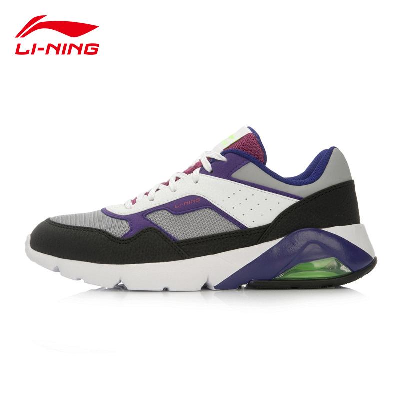 李寧女鞋 複古 跑鞋跑步鞋 鞋官方旗艦店女子氣墊鞋ARCL046