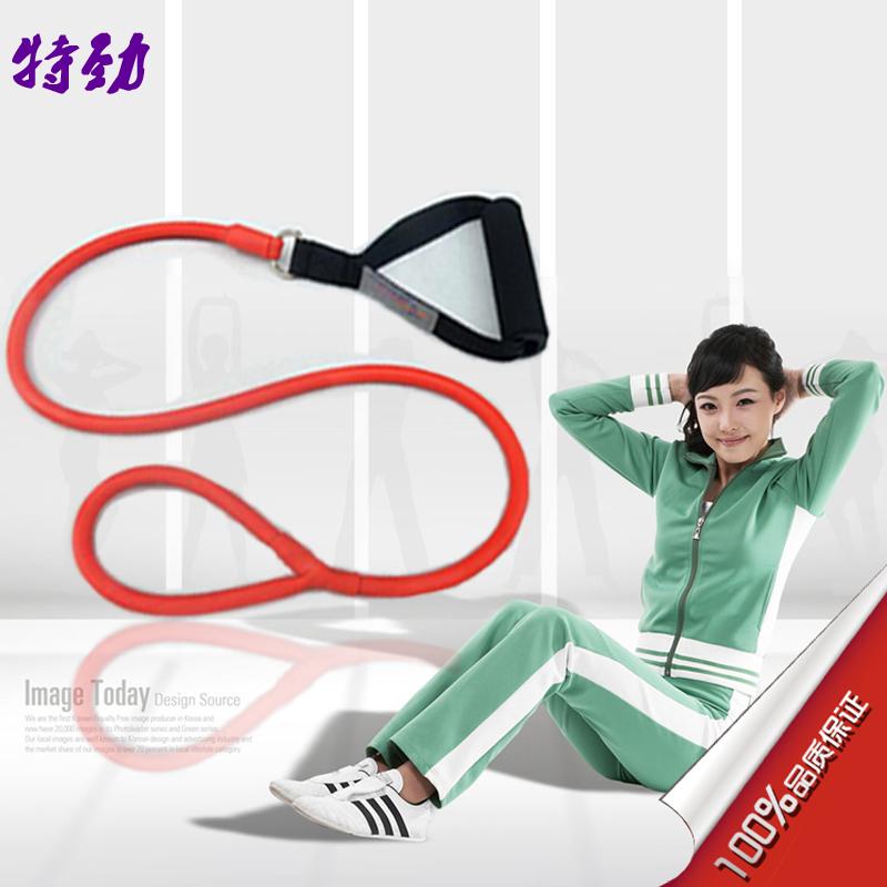 新款乳胶脚踏拉力绳弹力绳拉力器力量训练有氧运动机减肥健身器材