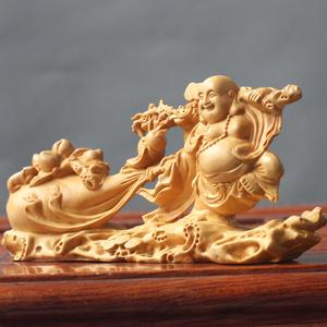 黄杨木雕工艺品摆件...