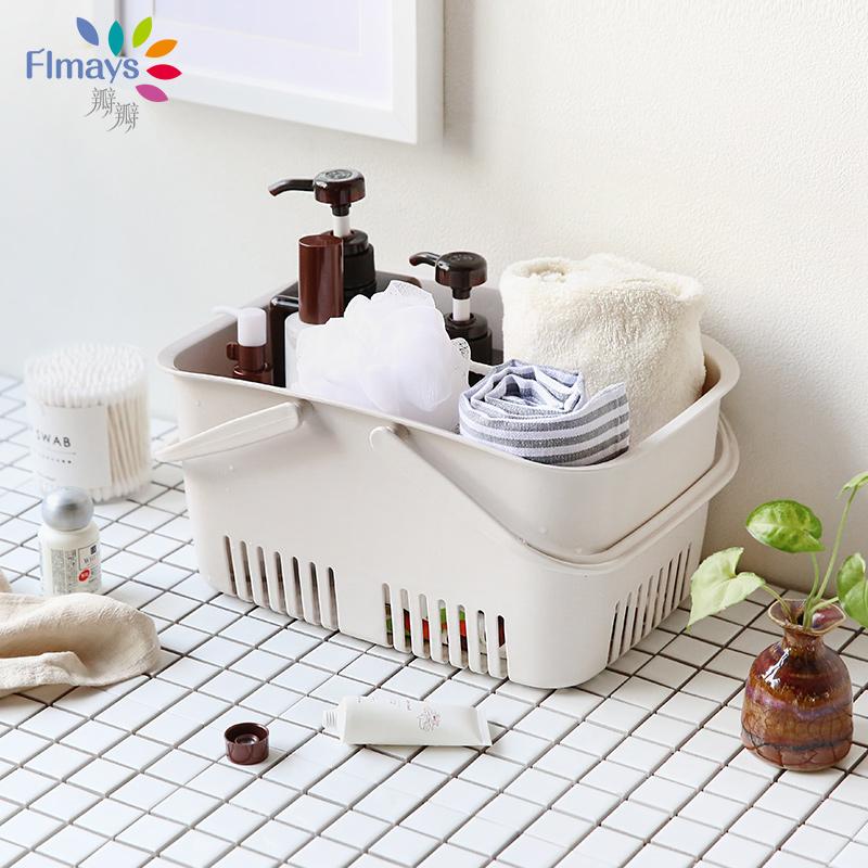 Клапан клапан купаться синий ванна корзина портативный ванная комната мыть ванна грязный одежда корзина хранение корзина сын мини пластик малая корзина сын