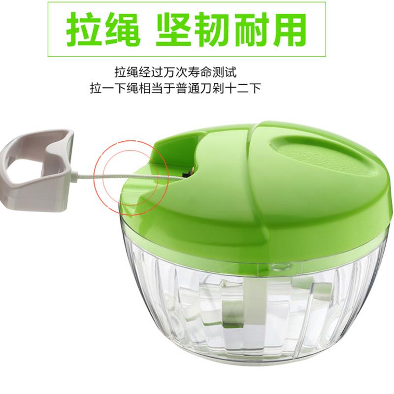德国kiuimi宝宝辅食研磨器婴儿辅食迷你研磨碗绞菜绞肉果泥料理机