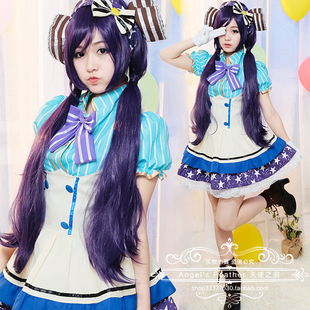 【Angel's Feather】love live东条希COSPLAY可爱餐厅女仆装
