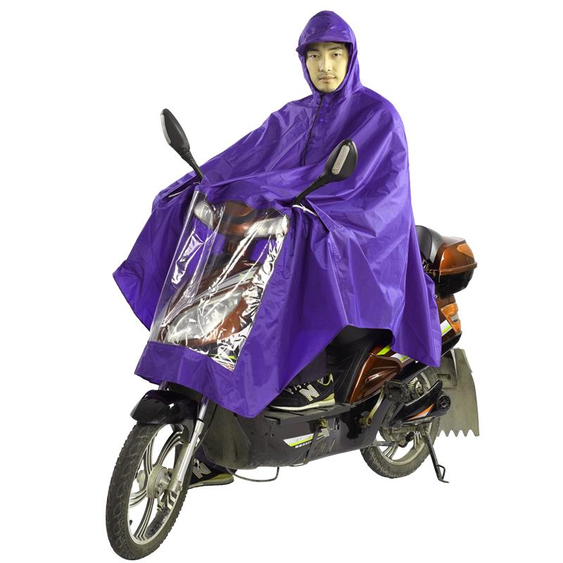 潮流天堂伞雨衣雨披■N210单人安全摩托车雨披电动车雨衣加大加