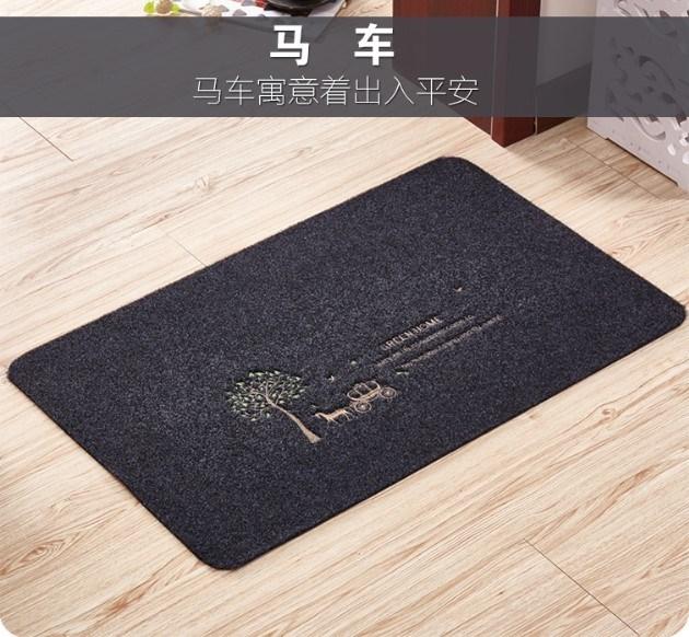 吸水厨房门口脚垫防油推拉门垫卧室床边毯爆款 厨房地垫长条防滑
