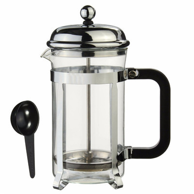 Sliver French Press Coffee Maker Cafetiere Cup Frame heat-re