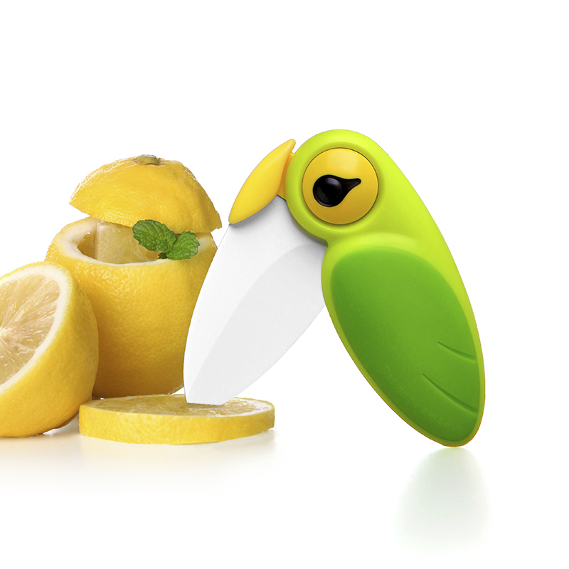 Тайвань artiart птицы нож керамический нож фрукты нож портативный сложить нож портативный нож вырезать кожа нож вырезать кожа устройство