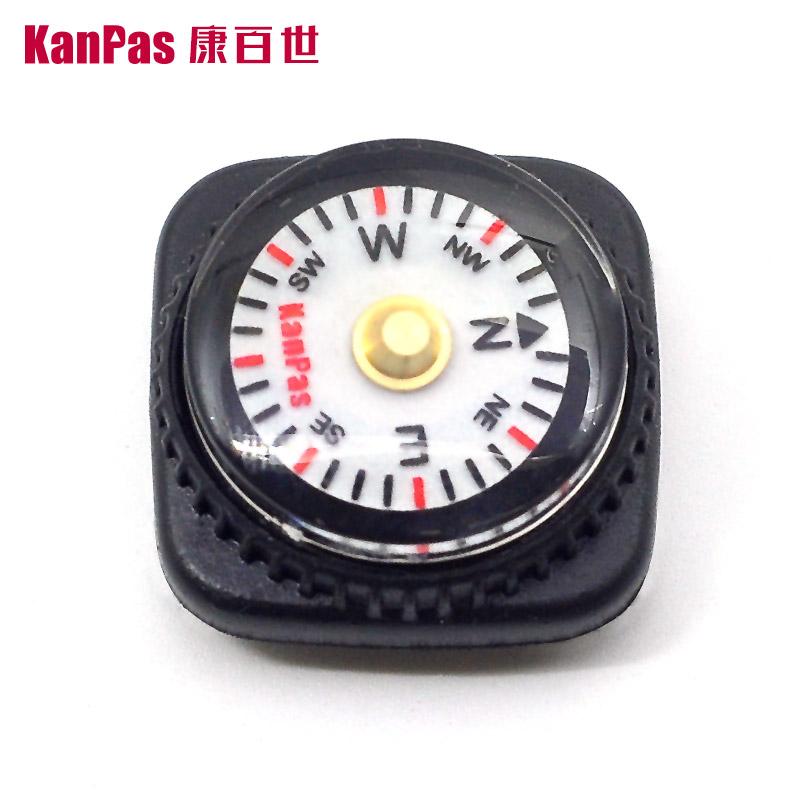 KanPas обновление версии запястье стол стиль мини компас / палец северная игла , портативный навигация надеть наручные часы группа , пояс серебристые