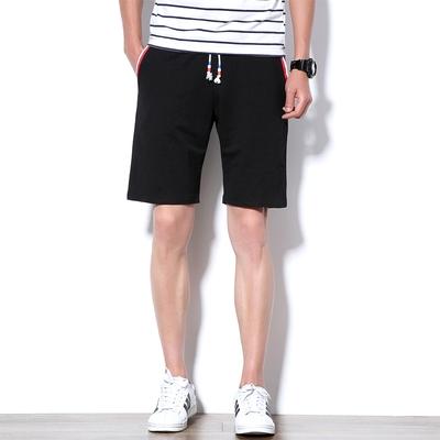 【K9106 P28】夏装新品 纯棉针织短裤 男士大码沙滩裤 加大加肥裤