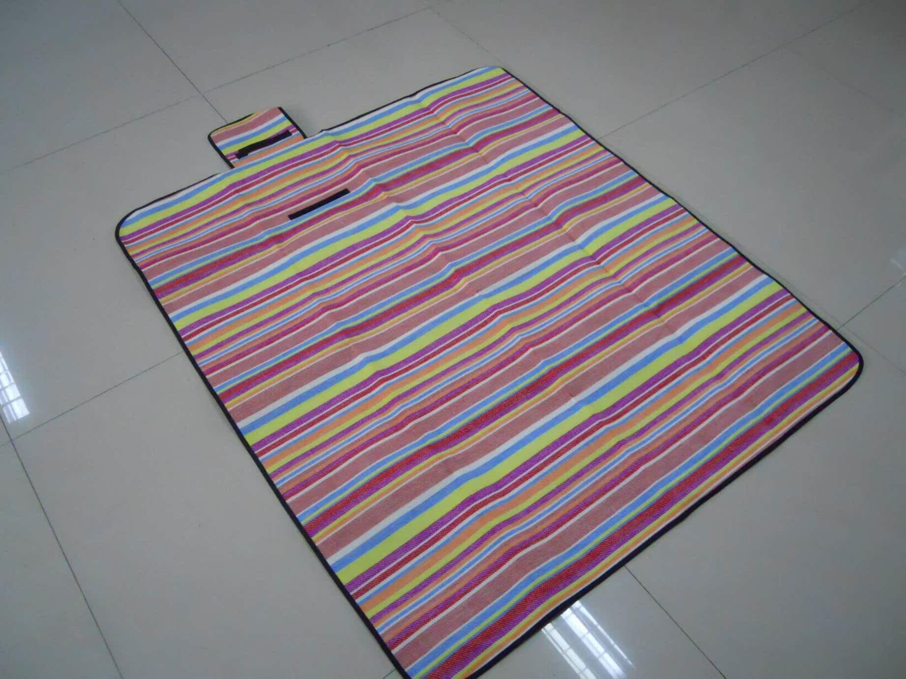 Экспорт Японии продажа специальные полосы для пикника коврик коврик йога коврики детей ползать мат 120 * 135 см