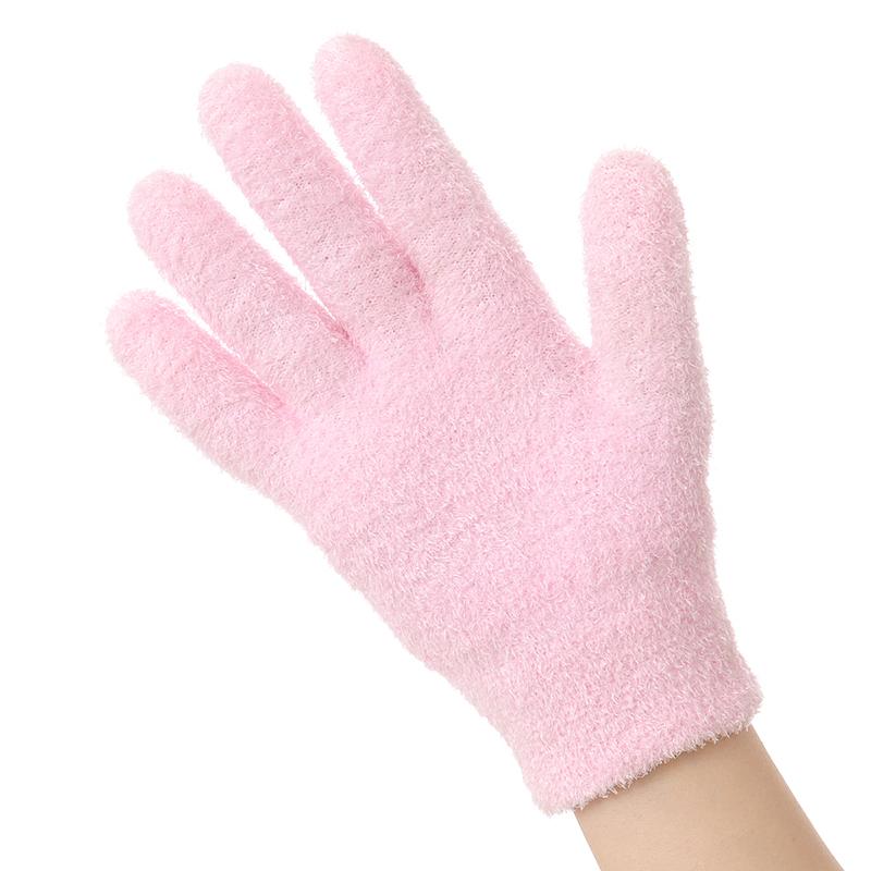 精油凝膠美容護手套襪套腳套 男女足跟全腳型矽膠保濕嫩白防裂襪