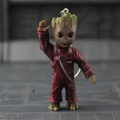 Guardians Of The Galaxy Groot Keychain