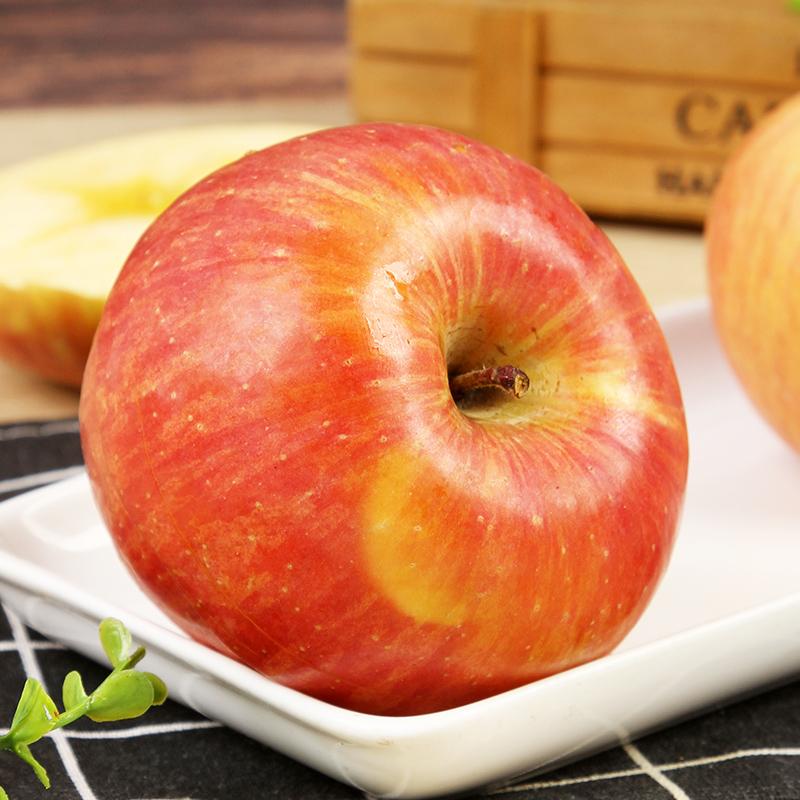 新疆水果正宗阿克苏冰糖心丑苹果红旗坡红富士特级新鲜不套袋的啊