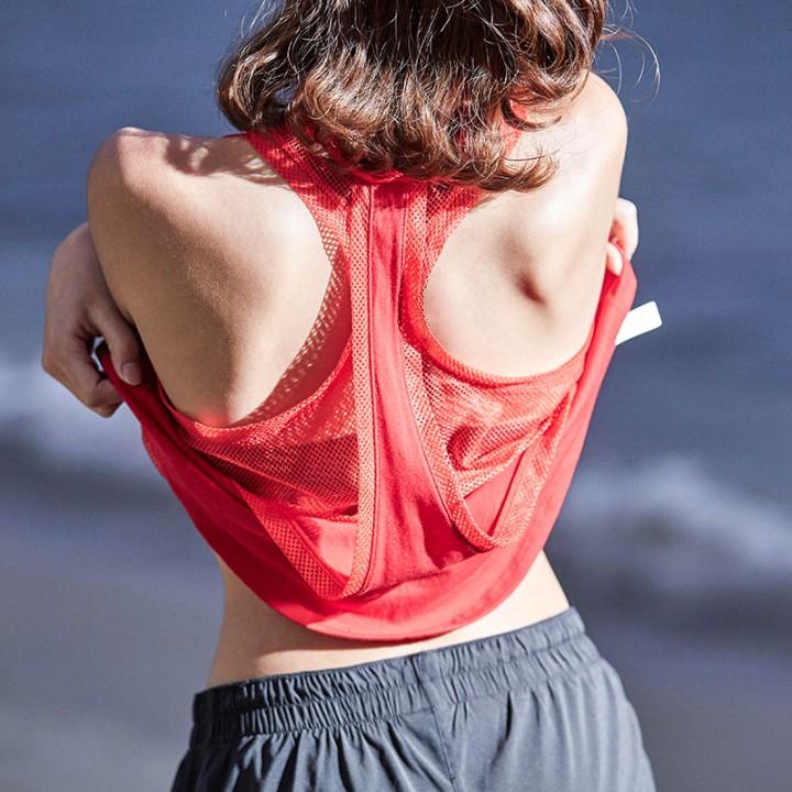 Сексуальный марля двутавровый движение жилет женский длинный модель фитнес бег быстросохнущие свободный безрукавный рабочий халат йога куртка лето