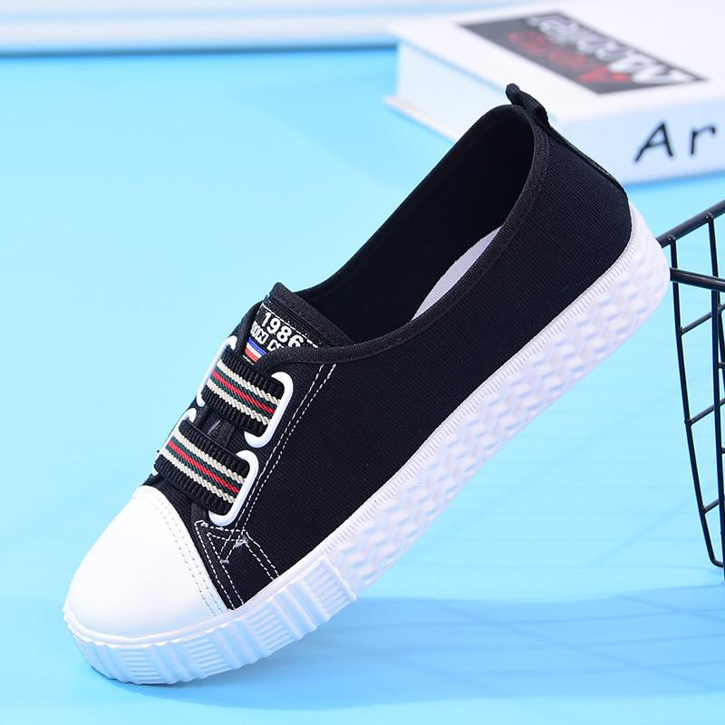【只限900抢完恢复28.9】2018新款鞋子女学生鞋女鞋帆布鞋女单鞋