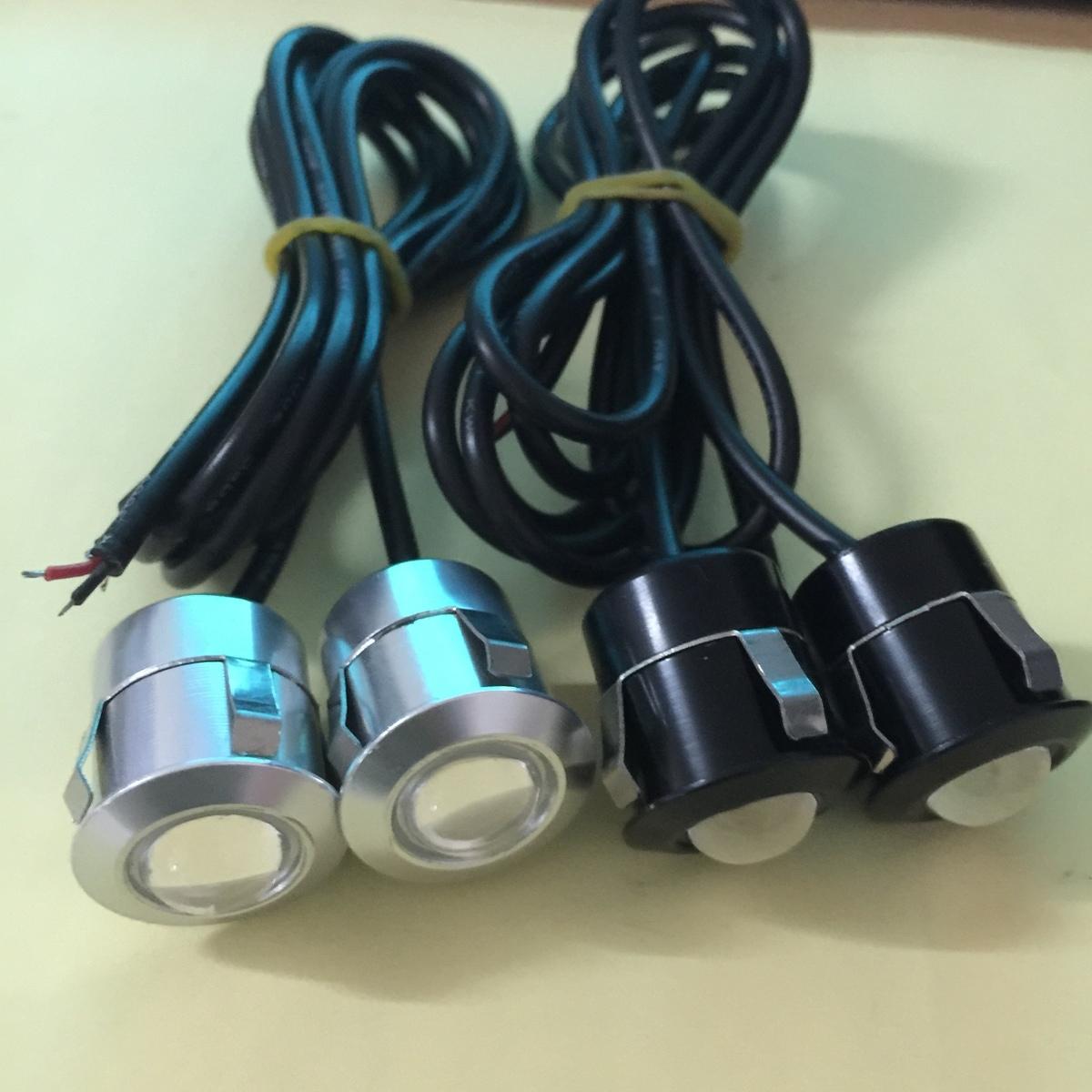 自動車12 v超薄型のステルス防水カードの口式レーダーイーグル・アイ灯LED日行ランプのごろつきの逆ランプ