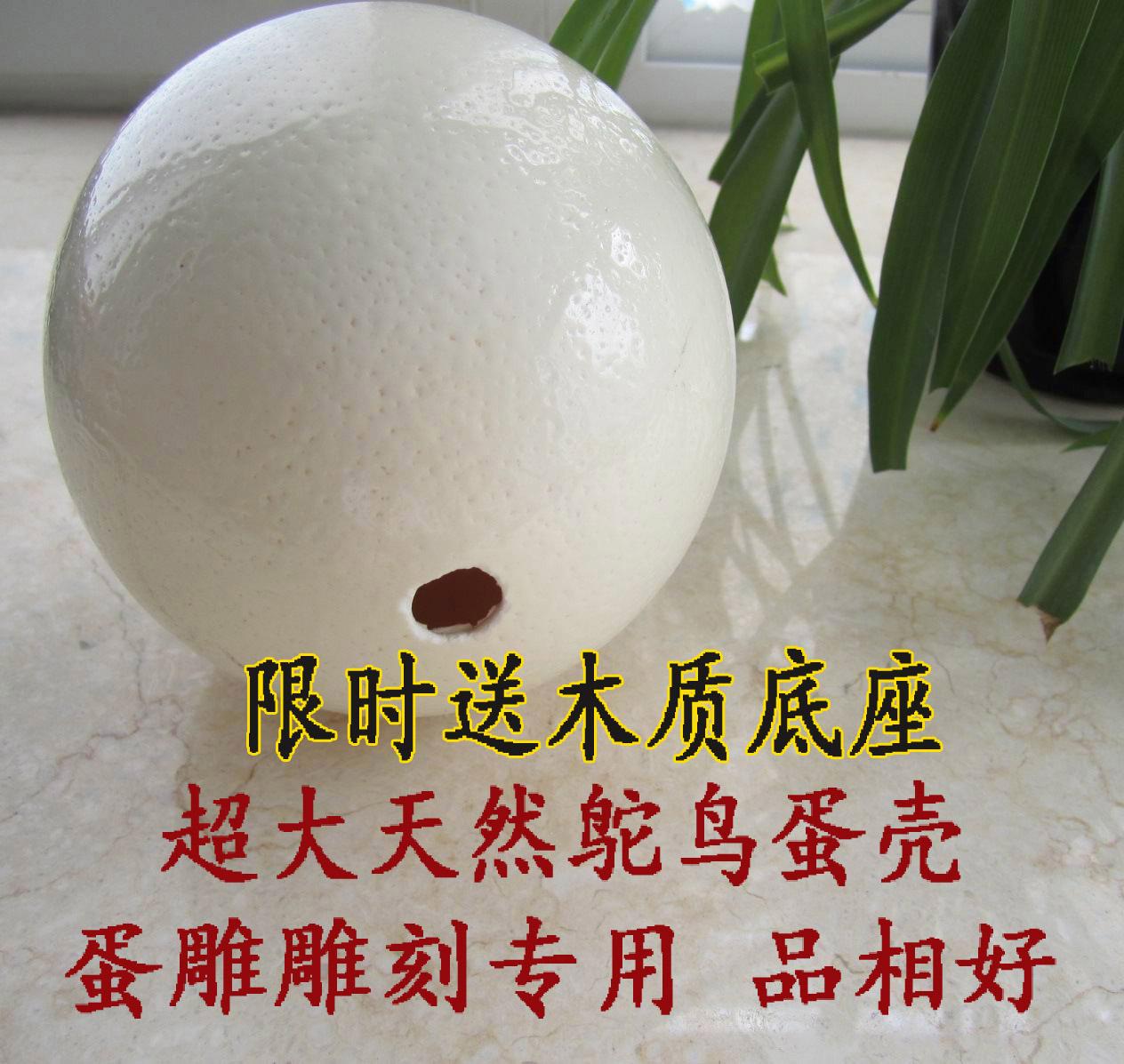 Природная страусиная яичная скорлупа новый Яйца, резьба по яйцам, резьба по кустарным изделиям, обеспечение качества