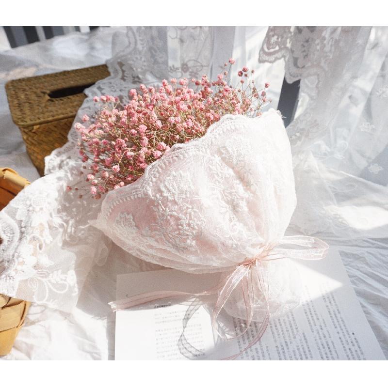 Супер девушка ins небольшой свежий розовый в небе звезда сухие цветы букет подарок день святого валентина день рождения подарок полный промышленность цветок