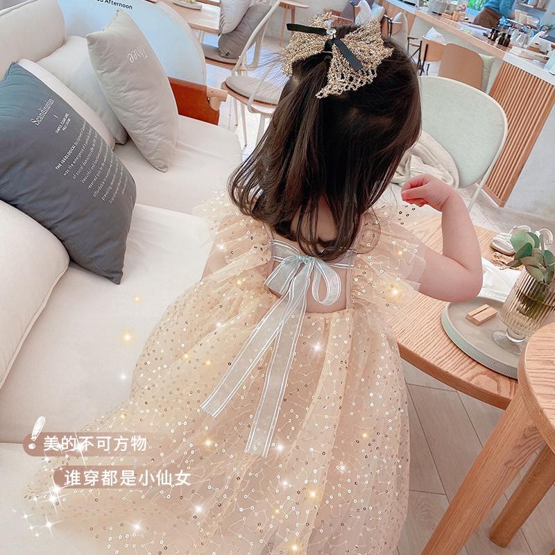 女童连衣裙夏装2020新款仙女裙子