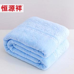 恒源祥纯棉提花毛巾被单人双人夏凉被儿童学生盖毯夏季成人空调被