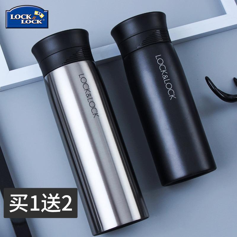 韩国乐扣乐扣咖啡杯马克商务保温杯