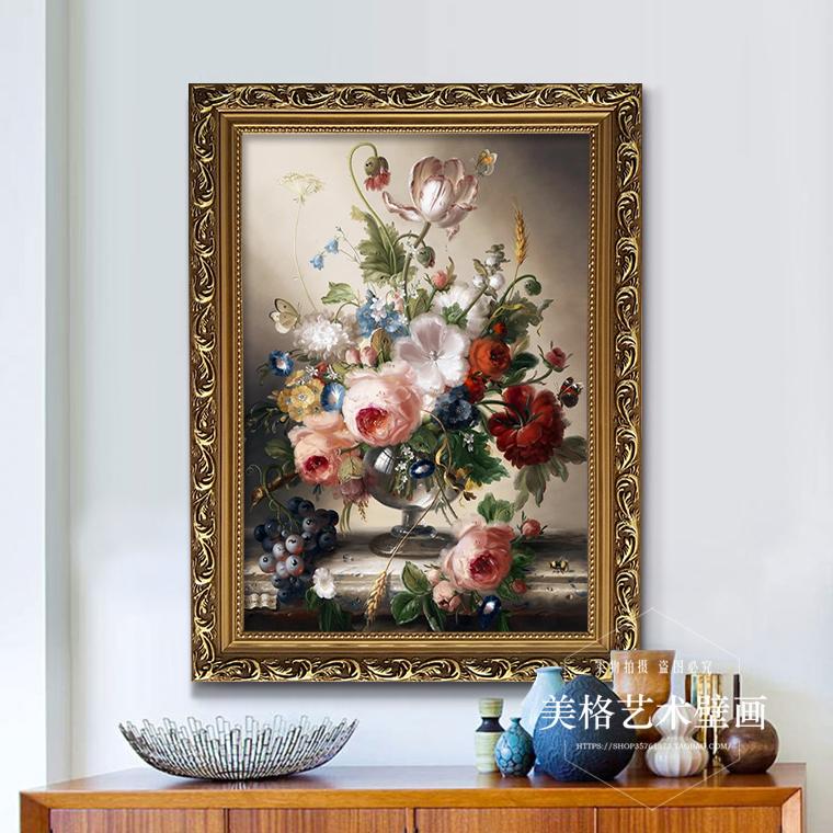 歐式客廳裝飾畫臥室房間玄關走廊餐廳壁畫現代沙發背景墻三聯掛畫