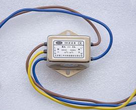BIT北京理工中兴EMI滤波器BA-3A 单相交流220V电源净化器带引线图片