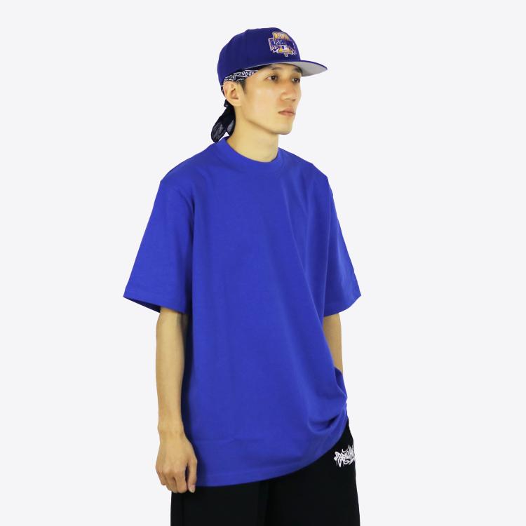 bboy宽松 纯色T恤 纯棉小领口 打底重磅净色短袖 嘻哈HIPHOP滑板