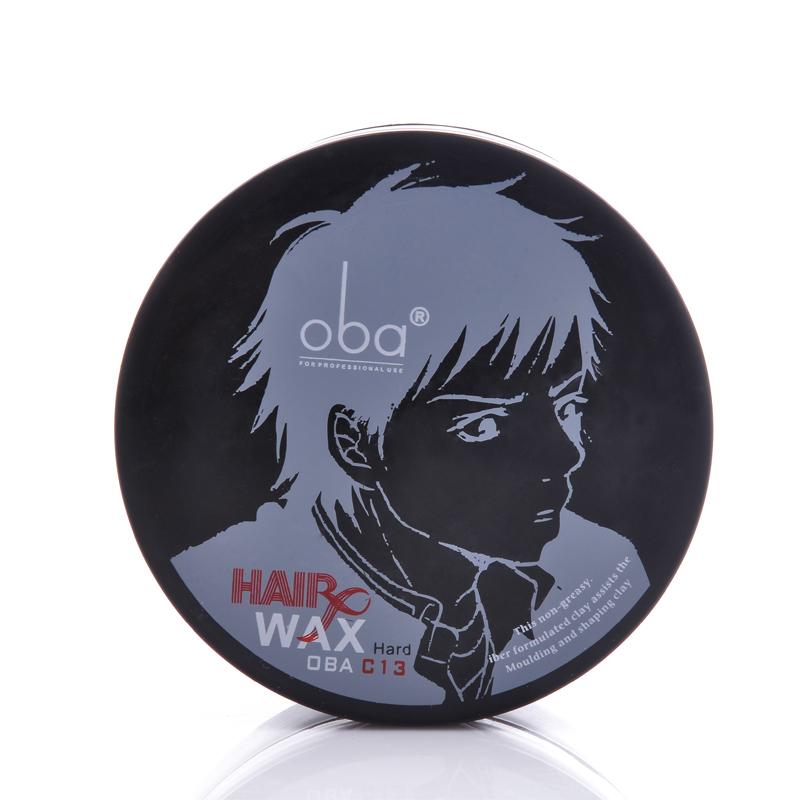 欧芭oba艺术家造型发泥C13欧巴男女士定型强硬型哑光发泥80g