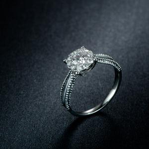 18k白金钻石...