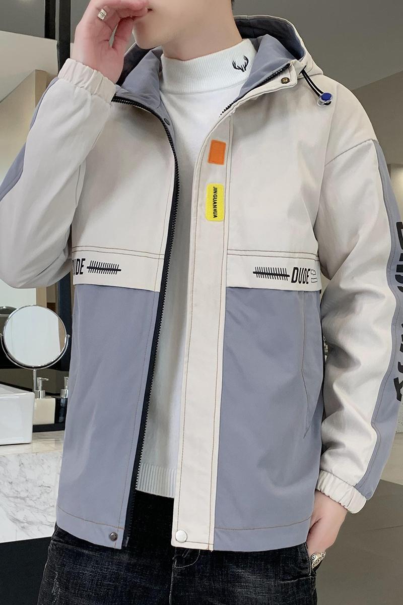 20冬季外套男中长款加绒夹克派克服夹克加厚棉衣JK666-P70-QT5018,男装夹克,5018