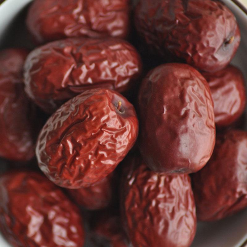 胖吉米新疆红枣灰枣大枣500g特级精选新疆特产无添加孕妇零食新货