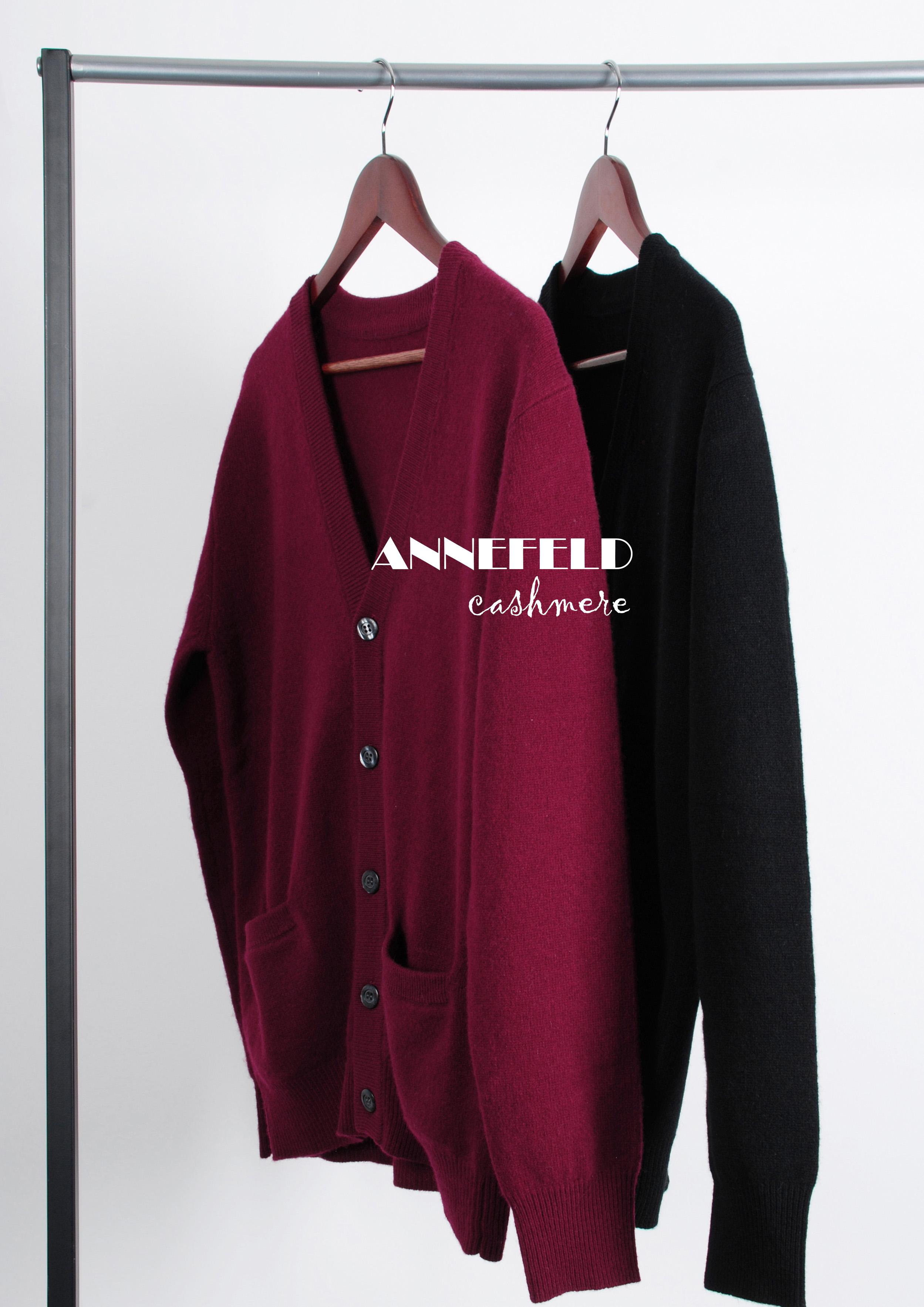 外贸工厂直销  男士秋冬加厚外套纯色开衫  羊绒羊毛混纺 酒红