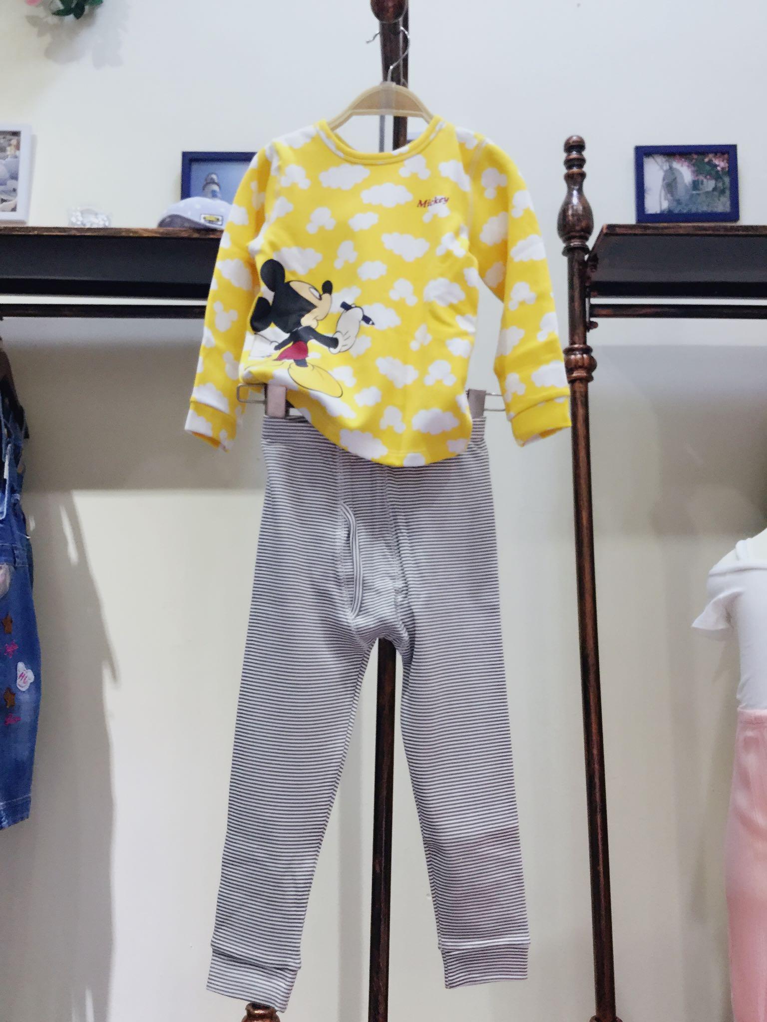15【迪家】专柜高档儿童针织内衣套装