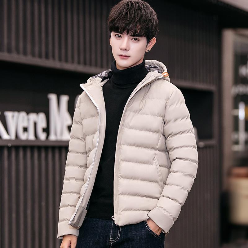 秋冬季男装新品男士棉夹克韩版修身型外套男式休闲保暖棉服上衣