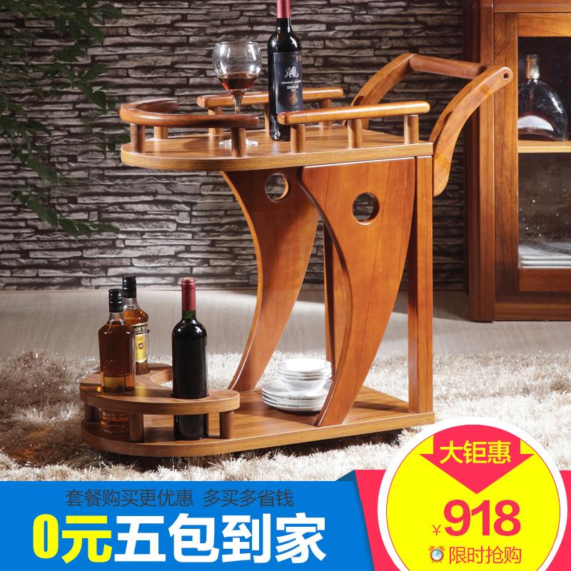 Твердая деревянная обедая автомобиль ликер водяное колесо от себя автомобиль мобильный чай автомобиль отели еда край полка кофейный столик специальное предложение