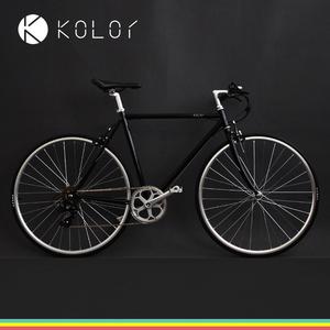 领30元券购买Kolor卡勒单车 7速14速变速公路自行车 城市通勤男女复古自行车