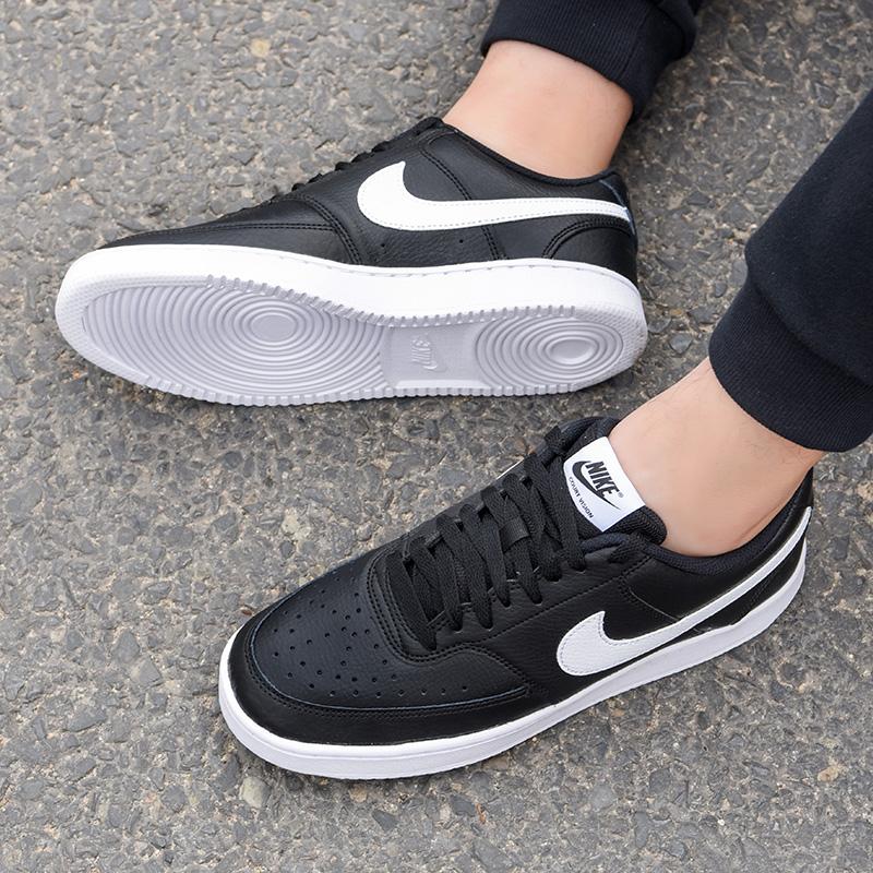 正品耐克男鞋2019冬季新款低帮耐磨滑板鞋板鞋休闲鞋黑CD5463-001