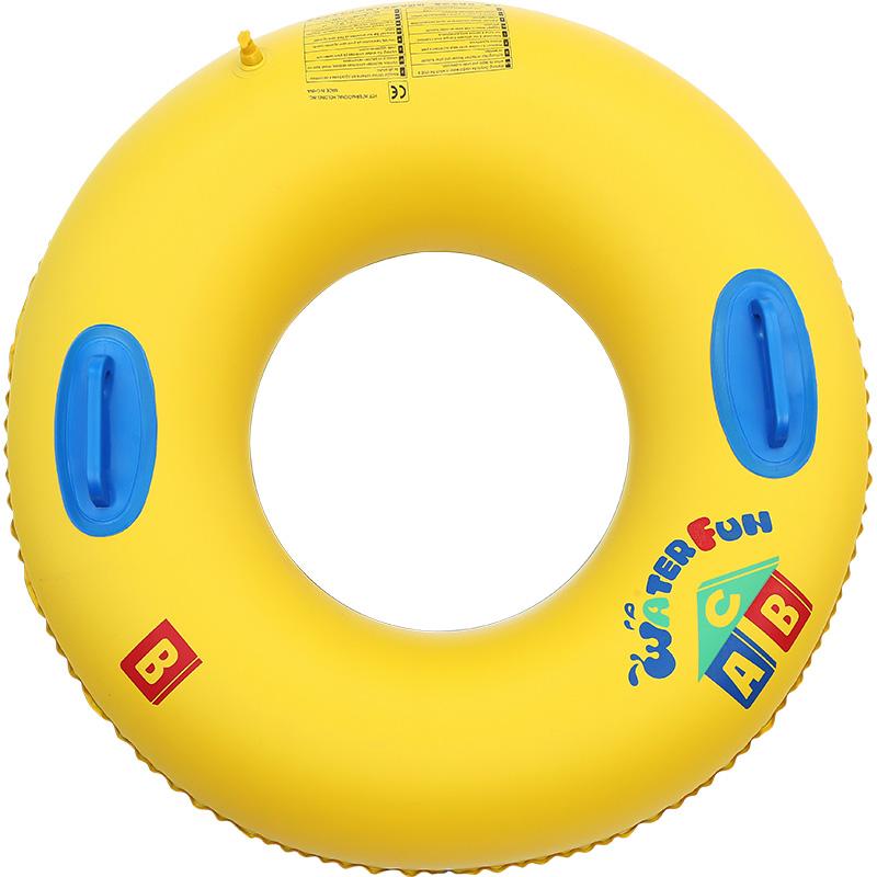 游泳圈成人女加厚大号救生儿童充气腋下大人火烈鸟网红泳圈装备